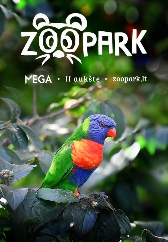 Apsilankyk edukaciniame zoologijos sode ZOOPARK.LT