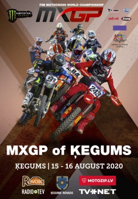 MXGP OF ĶEGUMS,  Solo Motocross World Championship 2020.