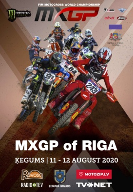 MXGP OF RIGA,  Solo Motocross World Championship 2020