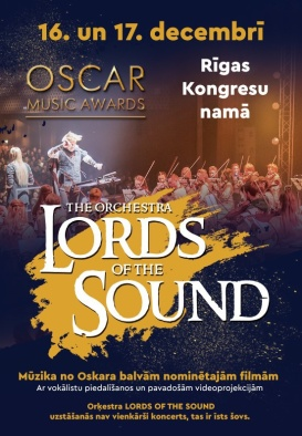 The orchestra LORDS OF THE SOUND. Oscar Music Awards