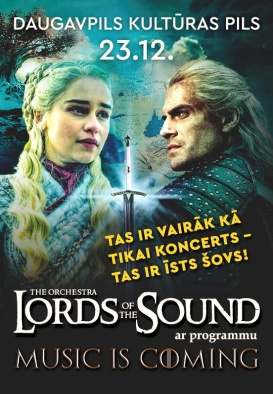 LORDS OF THE SOUND ar programmu 'Music is coming'